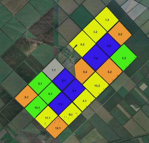 Электронные карты полей